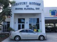 2008 Cadillac STS RWD w/1SA Heated and Cooled Leather Seats Sunroof NAV