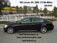 2006 Lexus GS 300 4dr Sedan