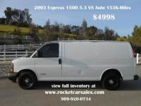2003 Chevrolet Express Cargo 2500 3dr Van