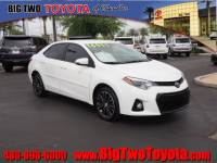 Certified Pre Owned 2016 Toyota Corolla S Plus S Plus Sedan CVT for Sale in Chandler and Phoenix Metro Area