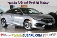 Used 2016 Honda Civic Coupe EX-L Available in Sacramento CA