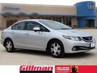 Certified Pre-Owned 2015 Honda Civic Hybrid Base near San Antonio, TX