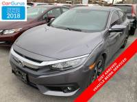 Certified Pre-Owned 2016 Honda Civic Sedan Touring With Navigation