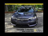 2016 Honda Civic Sedan LX 6 Speed Manual Back Up Camera XM BT