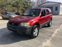2003 Ford Escape XLS Popular 4dr SUV