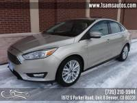 2018 Ford Focus Titanium 4dr Sedan