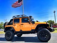 Used 2012 Jeep Wrangler Unlimited CUSTOM LIFTED LEATHER WARN XD POISON SPYDER