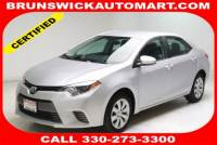 Used 2016 Toyota Corolla LE in Brunswick, OH, near Cleveland