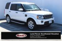 Used 2016 Land Rover LR4 HSE 4WD 4dr *Ltd Avail* in Houston