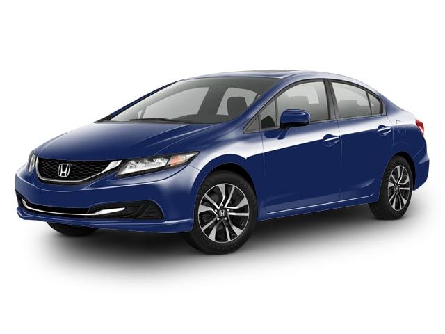 Photo Used 2015 Honda Civic Sedan EX for Sale in Portage near Hammond
