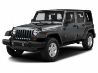 2016 Jeep Wrangler JK Unlimited Rubicon 4x4 SUV