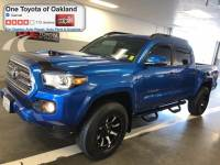 Certified Pre-Owned 2017 Toyota Tacoma V6 Truck Double Cab in Oakland, CA