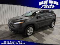 2015 Jeep Cherokee Limited 4x4 SUV in Duncansville | Serving Altoona, Ebensburg, Huntingdon, and Hollidaysburg PA