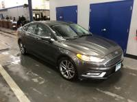 2017 Ford Fusion S Sedan iVCT