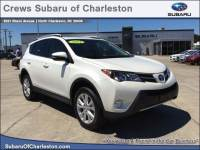 Used 2014 Toyota RAV4 4WD Limited For Sale in North Charleston, SC | 2T3DFREVXEW163847