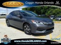 Certified 2017 Honda Accord LX Sedan in Jacksonville FL