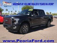 2016 Ford F-150 Lariat Truck SuperCrew Cab EcoBoost V6 GTDi DOHC 24V Twin Turbocharged