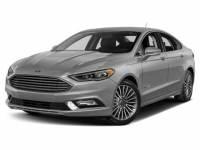 2018 Ford Fusion Hybrid Titanium Hybrid Sedan