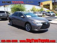 Certified Pre Owned 2015 Toyota Camry 4 Door FWD Sedan LE Sedan for Sale in Chandler and Phoenix Metro Area