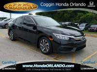 Certified 2016 Honda Civic EX Sedan in Orlando FL