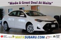 Used 2018 Toyota Corolla L Available in Sacramento CA