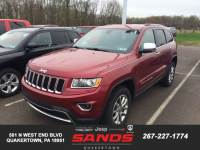 2015 Jeep Grand Cherokee Limited SUV For Sale in Quakertown, PA