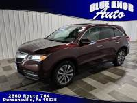 2016 Acura MDX Technology Package SUV in Duncansville | Serving Altoona, Ebensburg, Huntingdon, and Hollidaysburg PA