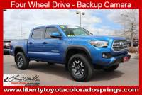 Certified 2017 Toyota Tacoma TRD Off Road TRD Off Road Double Cab 5 Bed V6 4x4 AT For Sale in Colorado Springs