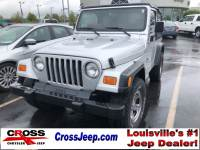 PRE-OWNED 2002 JEEP WRANGLER X 4WD