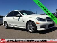 Used 2012 Mercedes-Benz C-Class For Sale   Peoria AZ   Call 602-910-4763 on Stock #U91173A