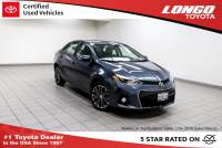 Certified Used 2016 Toyota Corolla CVT S Plus in El Monte