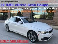 Used 2019 BMW 430i xDrive Gran Coupe For Sale at Paul Sevag Motors, Inc.   VIN: WBA4J3C59KBL07100