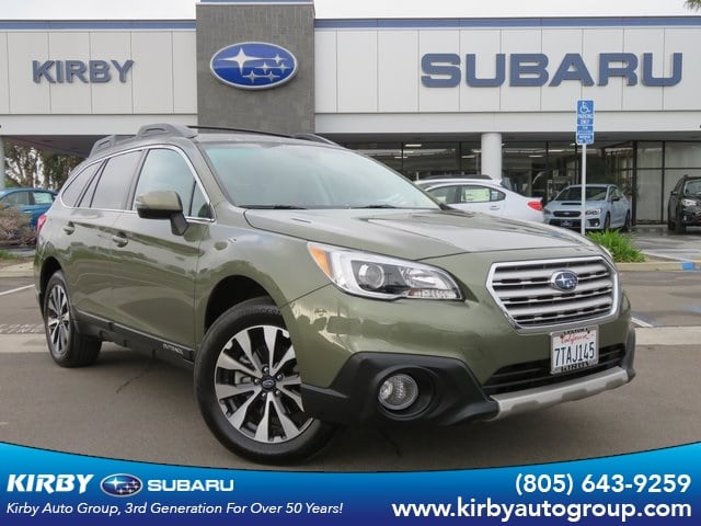 Photo Certified Pre-Owned 2016 Subaru Outback 3.6R Limited Moonroof Package  Keyless Access  Push-Button Start  Navigation System  EyeSight in Ventura, CA