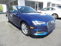 Certified 2018 Audi A4 2.0T Sedan