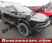 2015 Jeep Cherokee Trailhawk 4x4 SUV for sale near Syracuse, NY