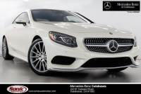 Pre-Owned 2016 Mercedes-Benz S-Class S 550 4MATIC Coupe