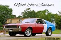 1969 AMC AMX - RED WHITE AND BLUE MUSCLE 410HP-