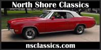 1971 Buick Skylark -CONVERTIBLE-WHITE TOP- NUMBERS MATCHING