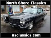 1963 Cadillac Coupe DeVille -COMPLETELY RESTORED- BLACK ON BLACK CADDY-