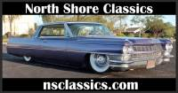 1964 Cadillac DeVille - SWEET NEW GLOSS BLACK WITH VIOLET SPARKLE EXTERIOR- 429 V8 WITH AIR RIDE