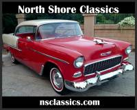 1955 Chevrolet Bel Air - 2-DOOR HARDTOP- 327 V8- 4000 MILES ON ENGINE