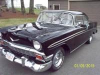 1956 Chevrolet Bel air BLACK HARD TOP