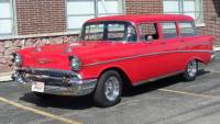 1957 Chevrolet Bel Air 210 WAGON -Complete RESTO-SEE VIDEO