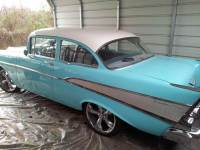 1957 Chevrolet Bel Air 210 POST CAR-FREE SHIPPING