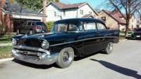 1957 Chevrolet Bel Air STYLE 2 POST-RUNNING PROJECT