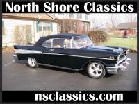 1957 Chevrolet Bel Air -VERY CLEAN - CONVERTIBLE - STAR OF THE SHOW!