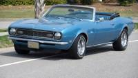 1968 Chevrolet Camaro -CONVERTIBLE-NUMBERS MATCHING-GREAT SUMMER FUN-SOLID SOUTHERN