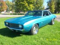 1969 Chevrolet Camaro COPO-Only 1 of 2 BUILT-L72 427-Same owner over 24 Years