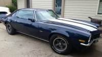 1973 Chevrolet Camaro -Z/28 MIDNIGHT BLUE-SOLID MUSCLE CAR-