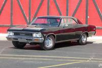 1966 Chevrolet Chevelle -TUXEDO BLACK-VERY CLEAN WITH LOW MILES - SEE VIDEO